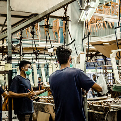 Aik Chee Furniture - Production line